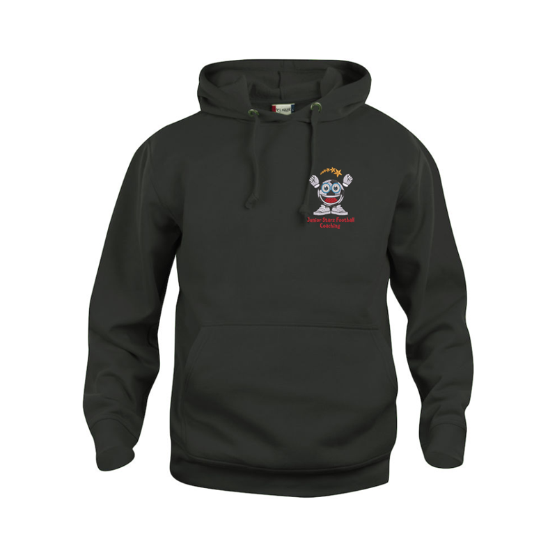 Hooded Tops embroidered and printed with Junior Stars logos