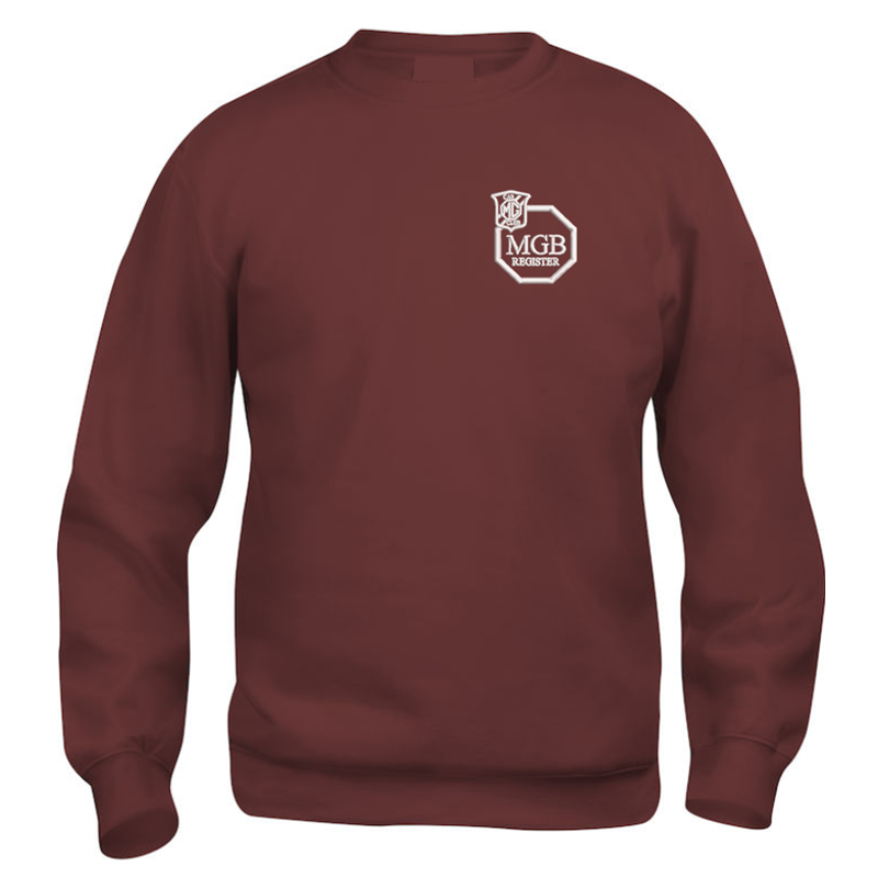 Polycotton Sweatshirt embroidered logo left breast.