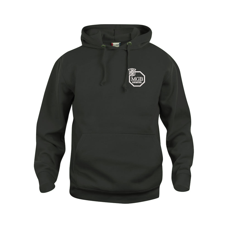 Super soft luxurious feel 60/40 Polyester Cotton mix Hooded Sweatshirt.