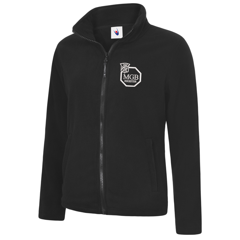 Full Zip Fleece Jacket embroidered with club logo