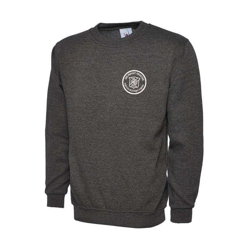 Polycotton Sweatshirt embroidered logo left breast.