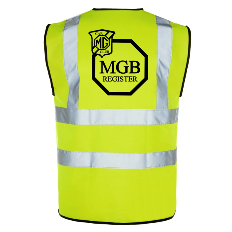 Safety Vest with logp printed front and back