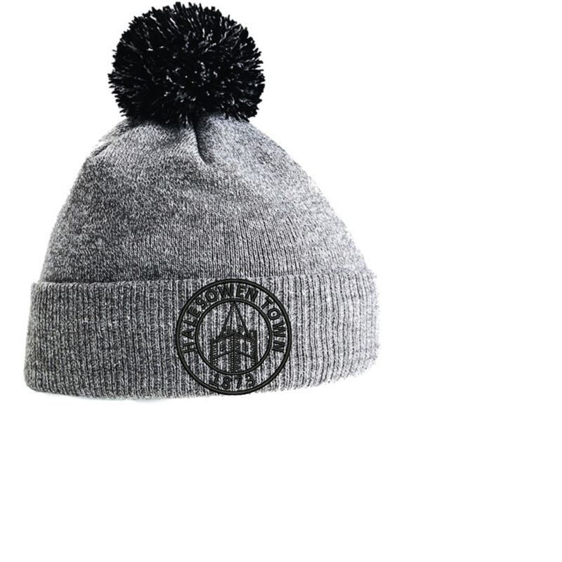 Double layer knitted PomPom - With Club logo