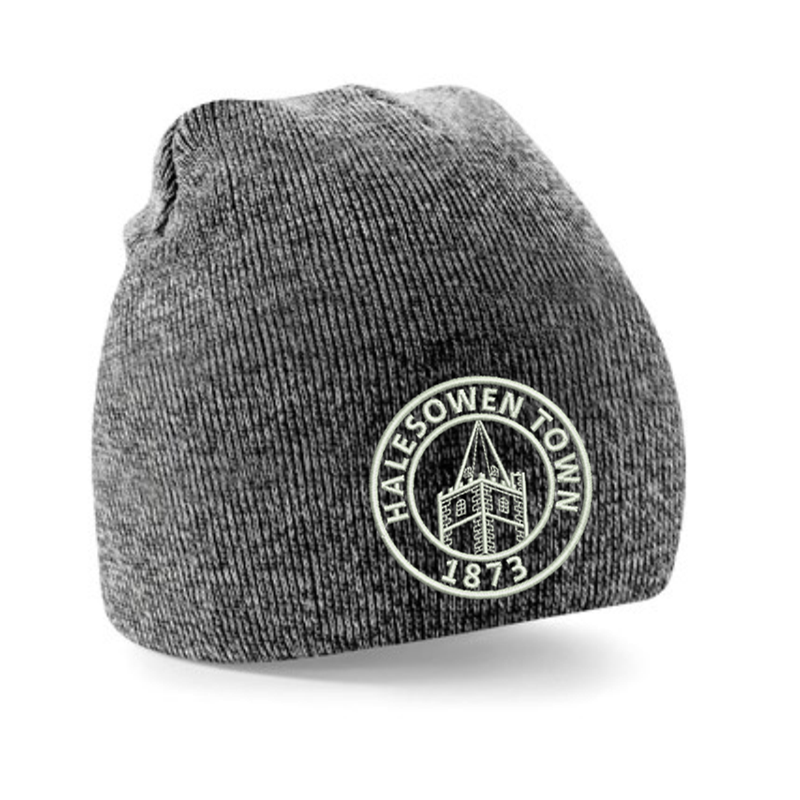 Double layer knited pull on hat - With Club logo