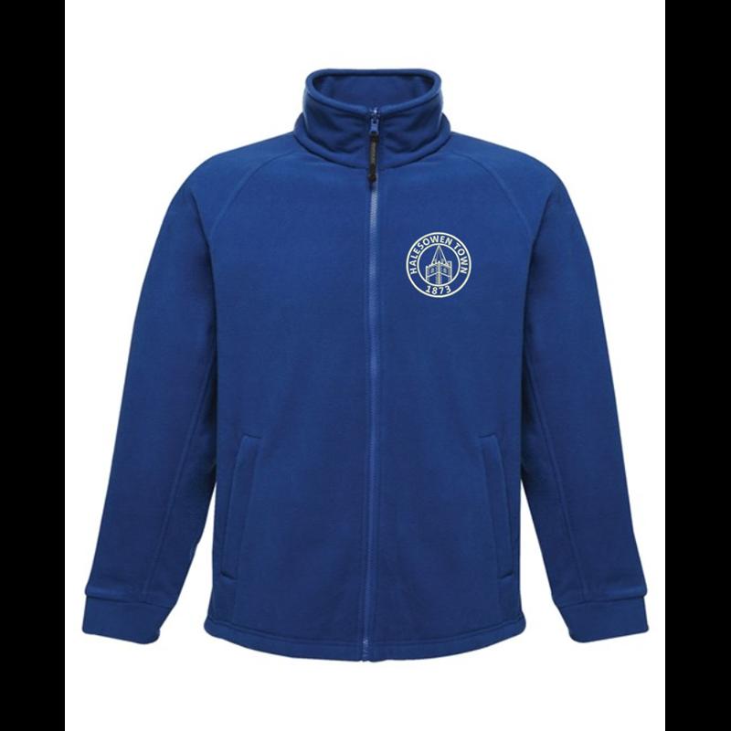 Full Zip Fleece Jacket embroideRoyal with club logo