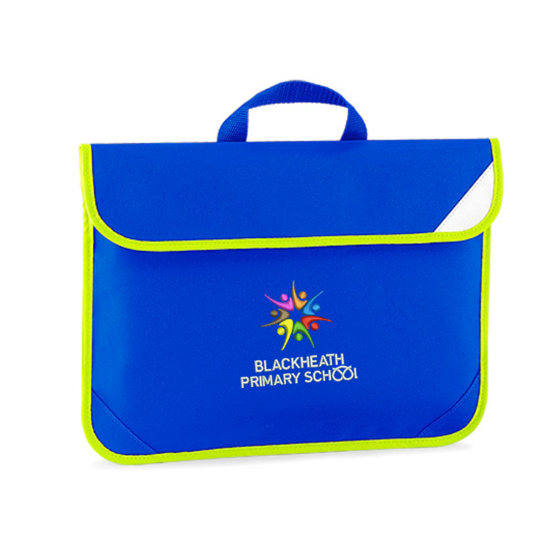 Book Bag, School Logo and Hi Viz trim