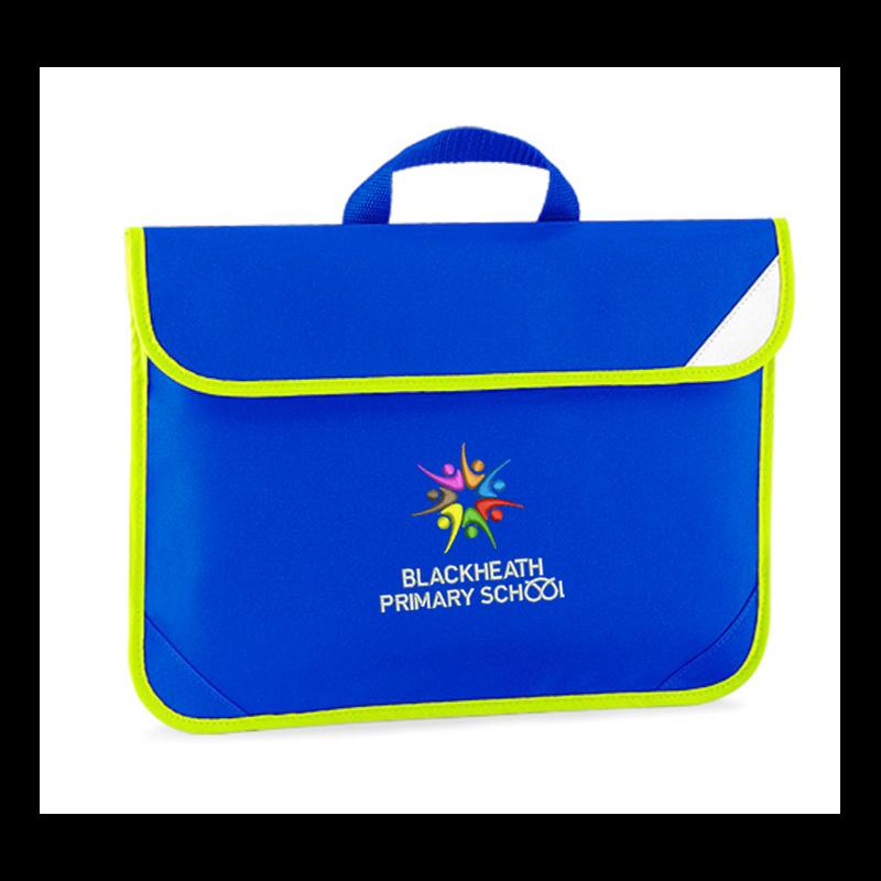 Book Bag, School Logo and Hi Viz trim