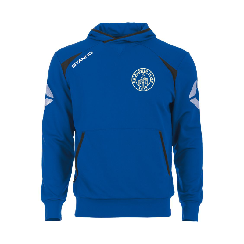 Halesowen Town FC Hooded Sweatshirt, embroiderd official club logo to left breast.