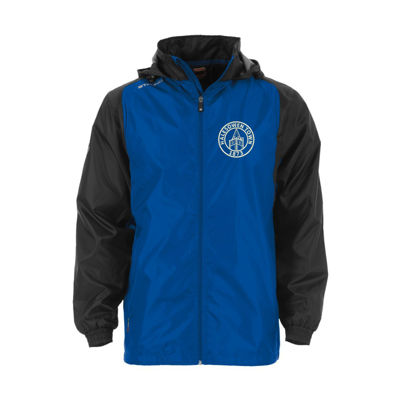 Halesowen Town FC Shower Jacket, embroiderd official club logo to left breast.