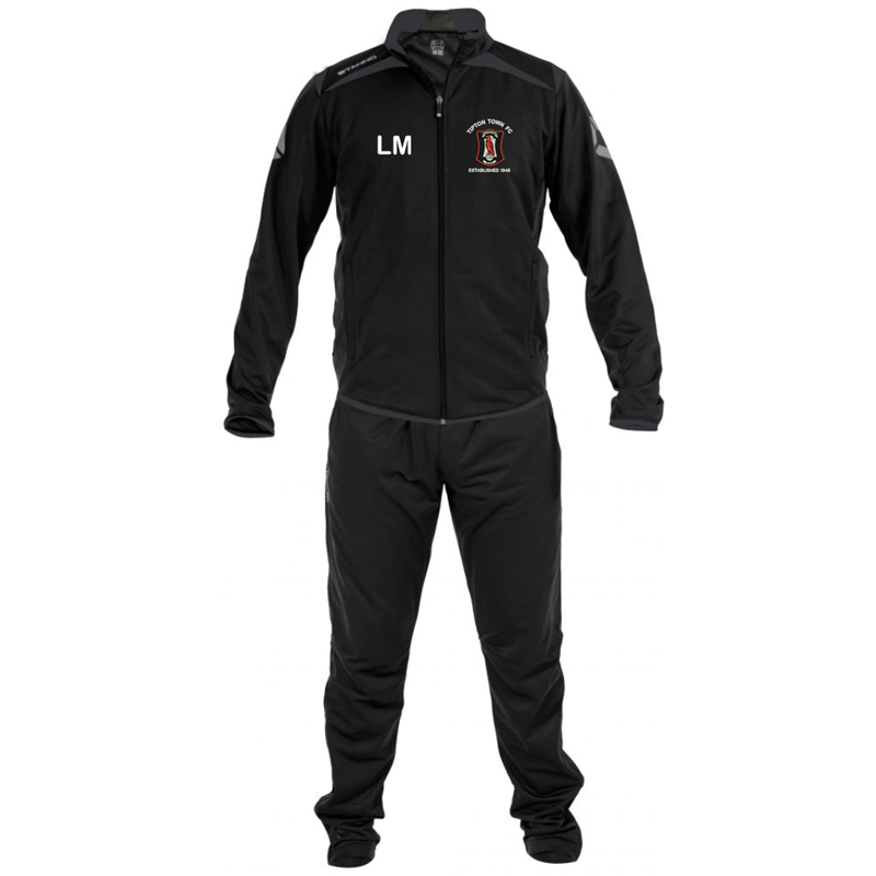 Academy Tracksuit, embroidered with logo and your initials printed.