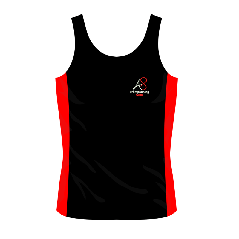 Activ8 Girls Cool Vest with logo to front