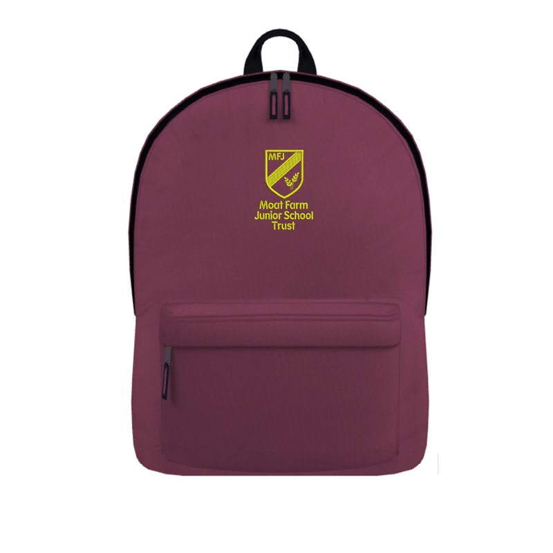 Back Pack embroidered with Moat Farm logo