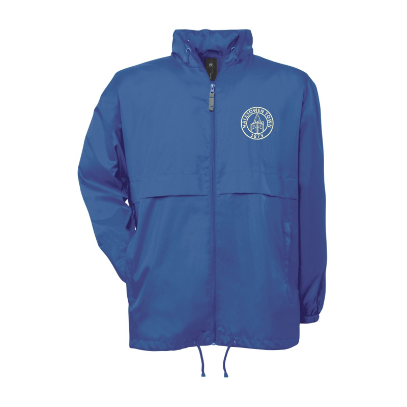 Lightweight shower jacket embroidered with club logo to left breast.