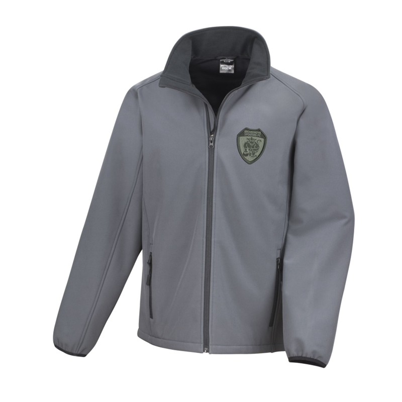 Microfleece lined jacket, warm with many features. Embroidered with mono club logo availale in sizes Small up to 4XL