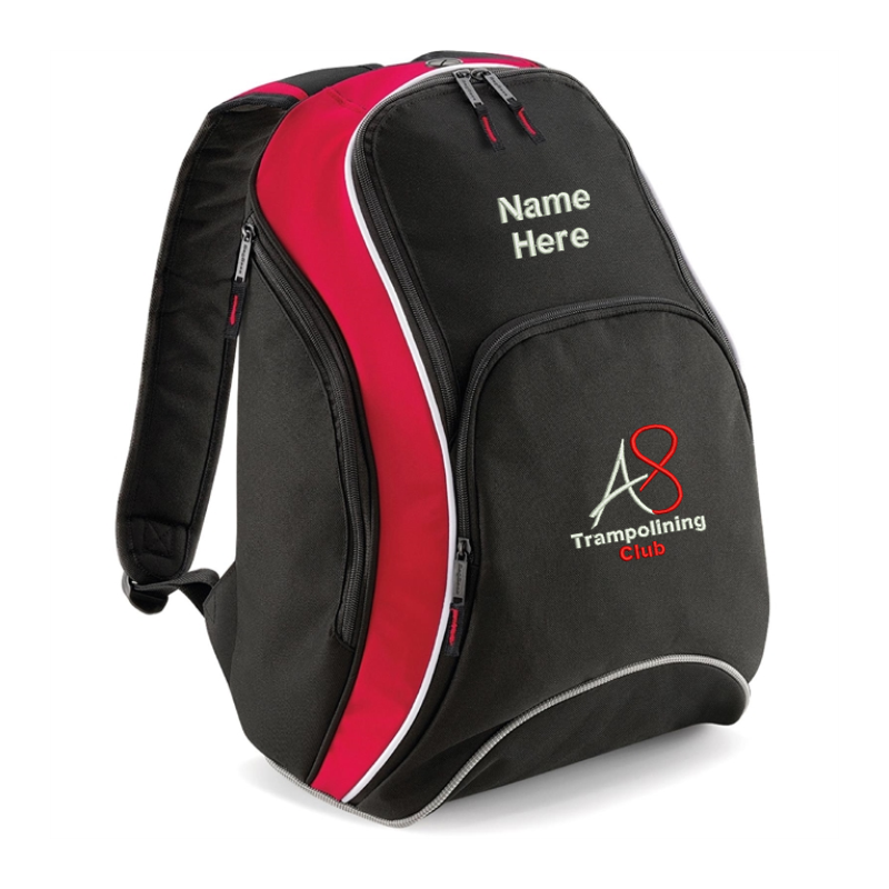 Activ8 Backpack with name