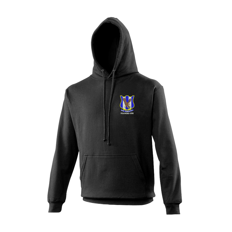 Hooded Sweatshirt, embroidered club logo left breast