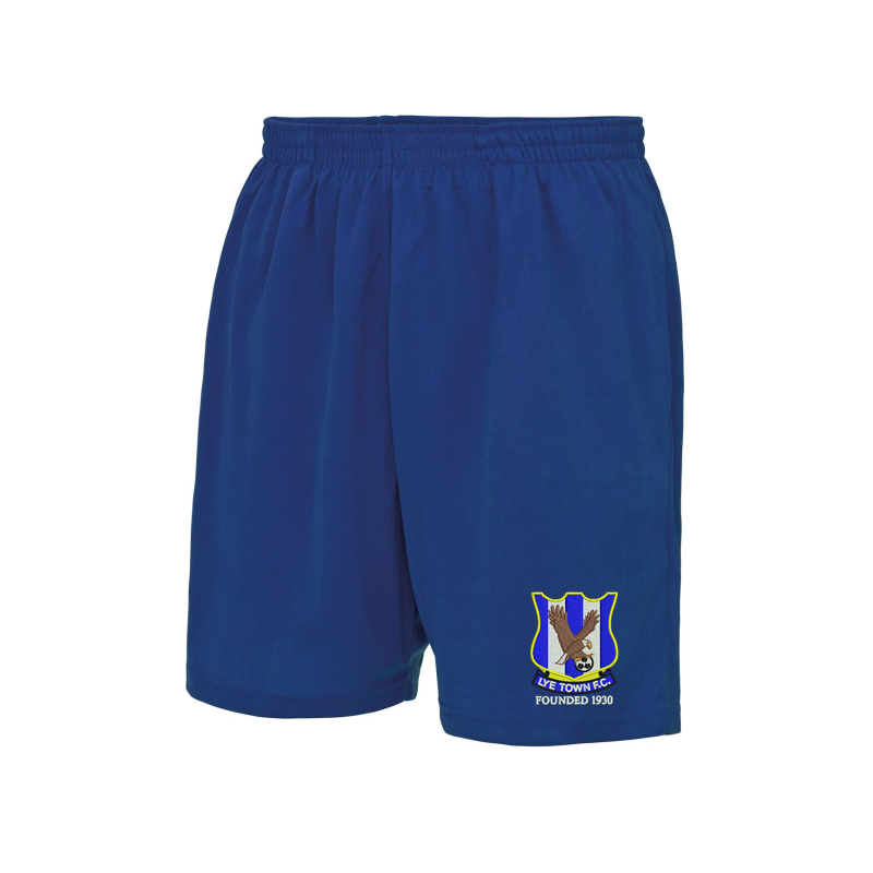 Neoteric™ fabric with wickability, quick-drying properties and elasticated waist with side pockets. Embroidered club logo to left leg as worn.