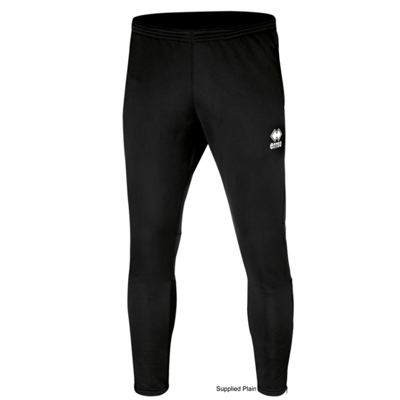 Black Polyester skinni fit training pant