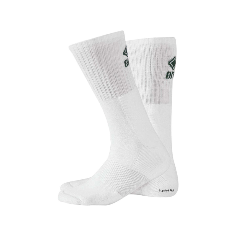 Short training socks in white