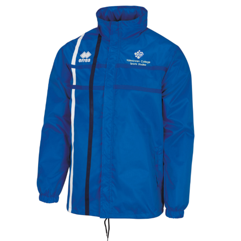 Long sleeve training jacket, embroidered with College logo to left breast
