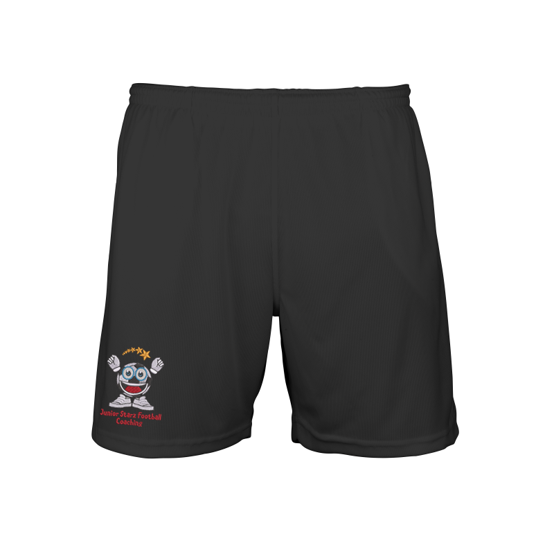 Shorts embroidered and printed with Junior Stars logos