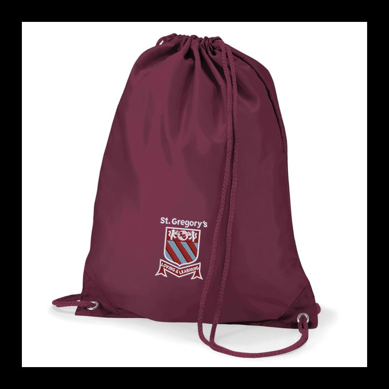 PE bag with School logo