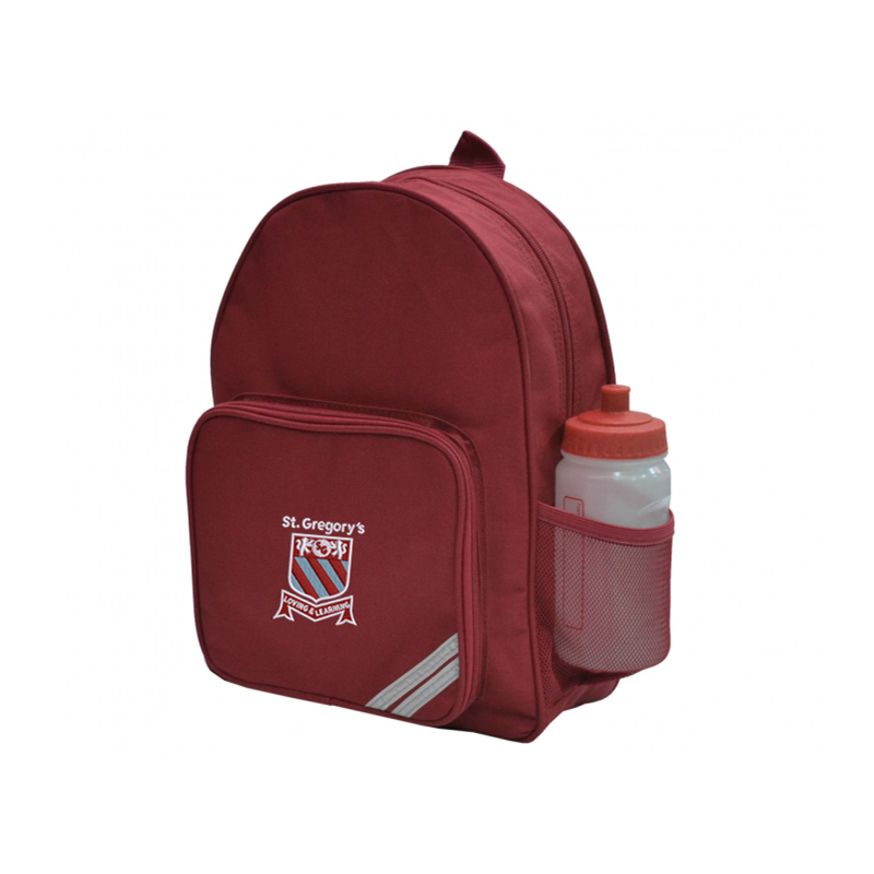 Backpack with School logo