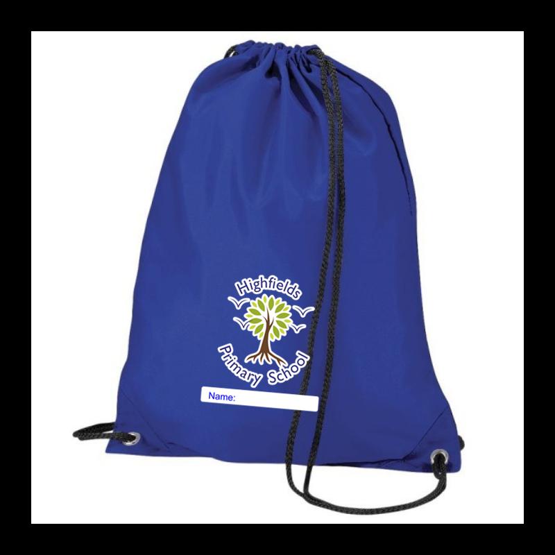 PE bag printed with School logo
