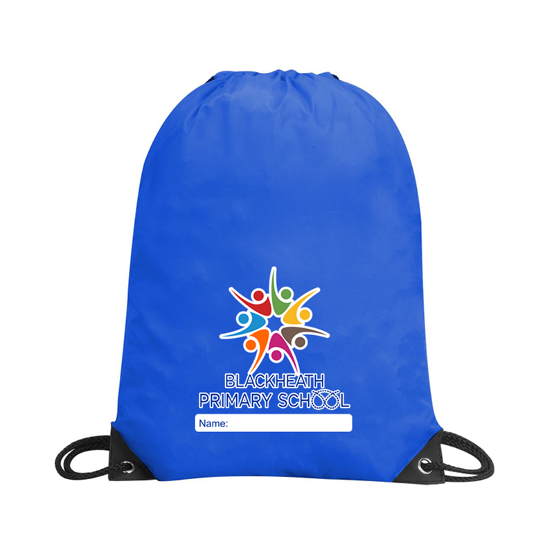 School PE Bag, logo printed
