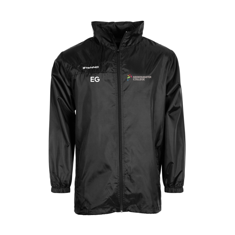 All Weather  Jacket with college logo and initials
