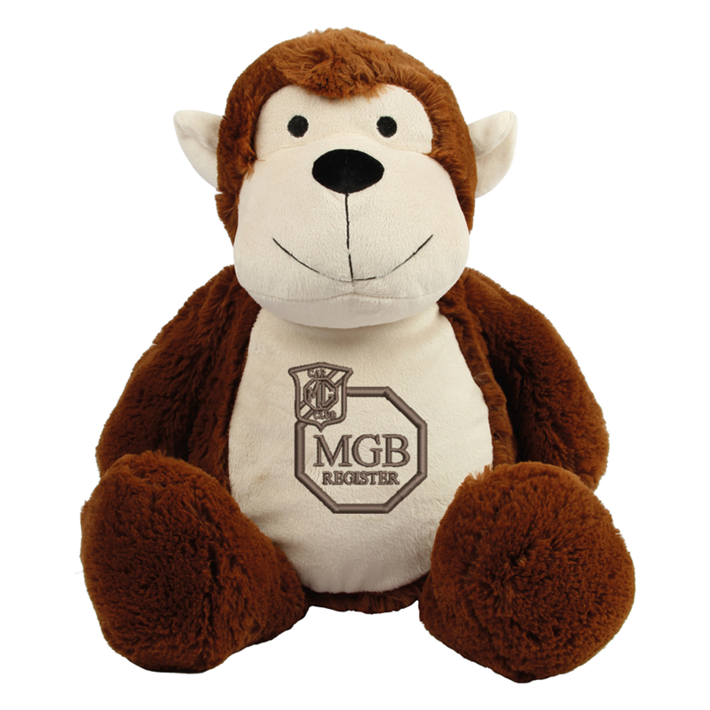 Brown coloured soft plush teddy. Contrast Brown nose. Sewn eyes. Light Brown coloured panel on chest and feet.Embroidered club logo. Complies with EN71 European Toy Safety regulations. Remove all hang tags and their fasteners before giving these items to a child. Suitable for children of all ages.