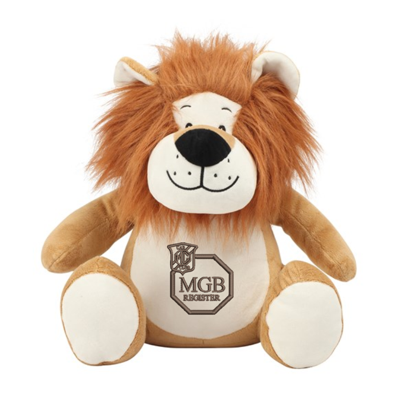 Mid Brown coloured soft plush teddy. Contrast Brown nose. Sewn eyes. Light Brown coloured panel on chest and feet.Embroidered club logo. Complies with EN71 European Toy Safety regulations. Remove all hang tags and their fasteners before giving these items to a child. Suitable for children of all ages.